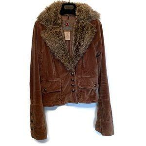 B.B. Dakota Brown Coat Size Medium